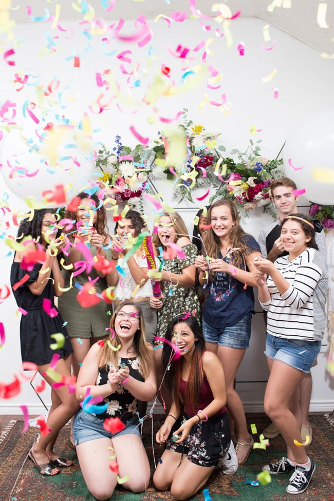 Colorful Boho Sweet Sixteen Party