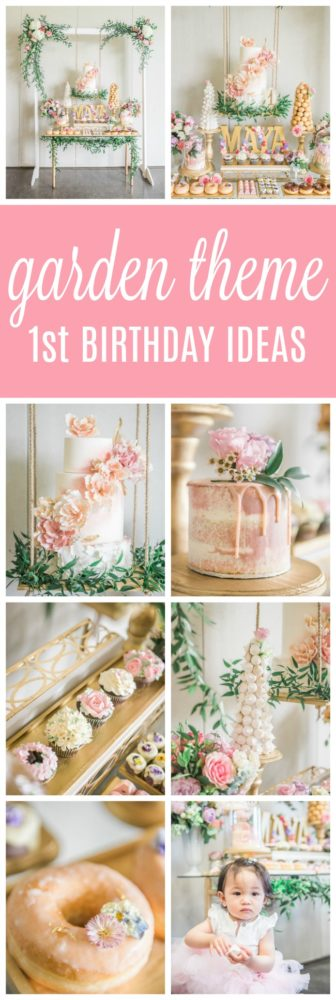 Gorgeous Garden Themed 1st Birthday Party on Pretty My Party