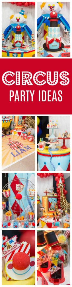 Sweet Circus Birthday Party on Pretty My Party