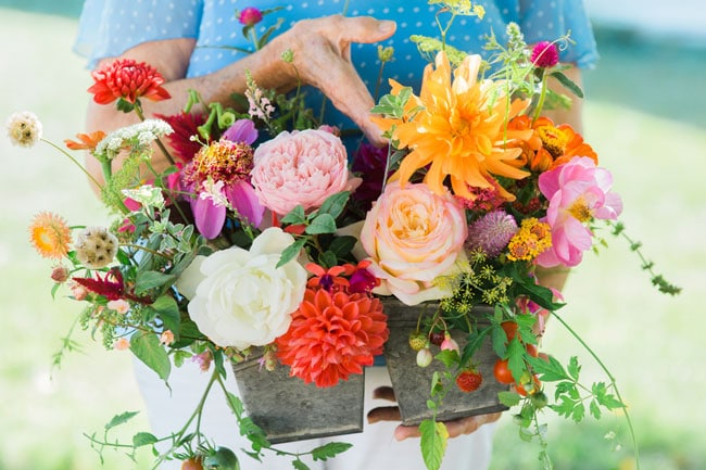 Farm to Table Anniversary Flowers