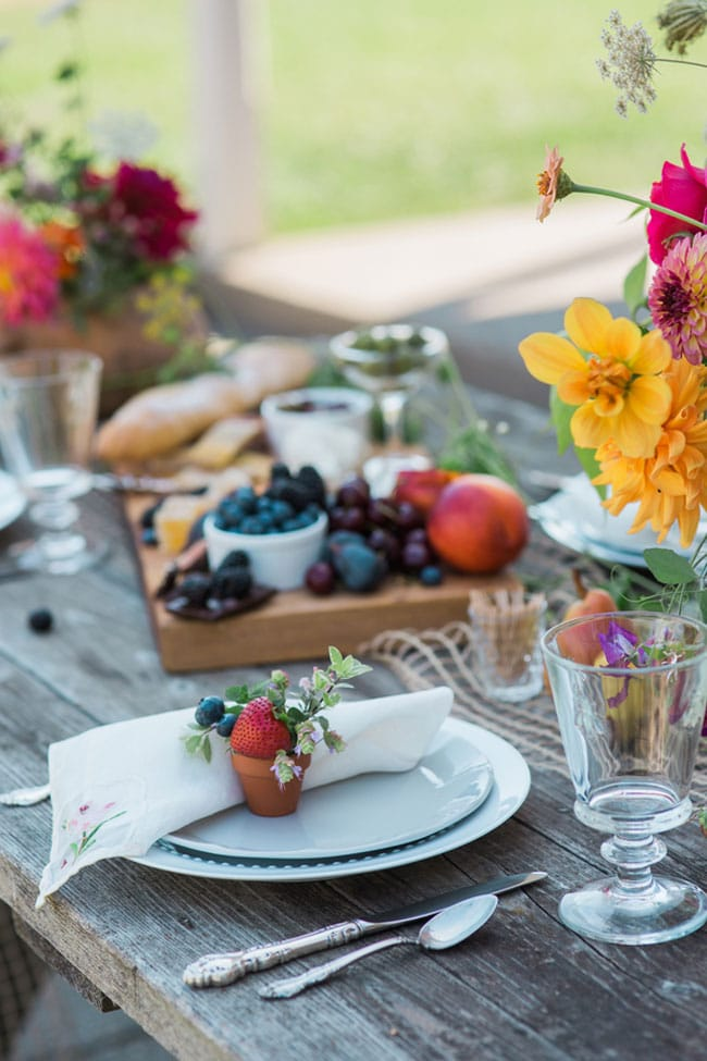 Farm to Table Tablescape