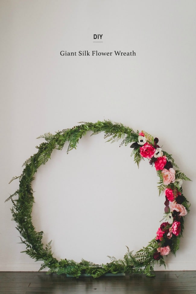 DIY Circle Arch - Wedding wreath