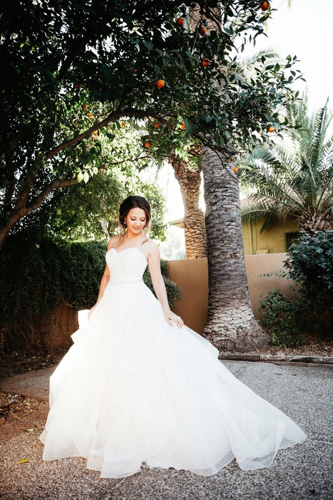 Garden Wedding Gown