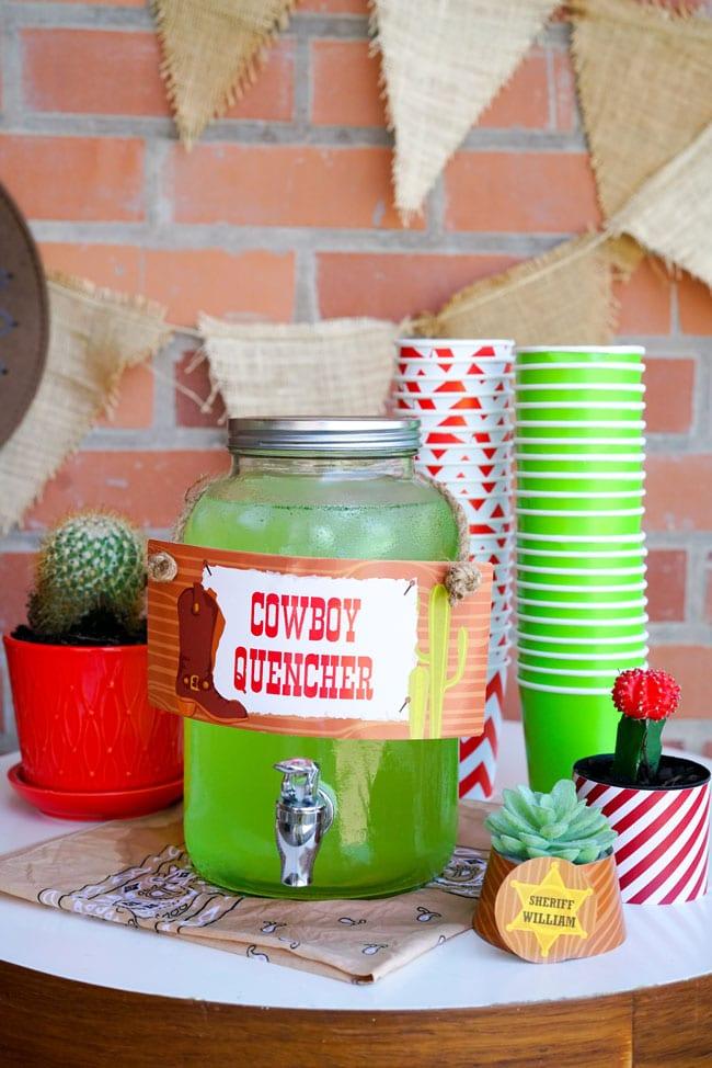 Cowboy Party Drink