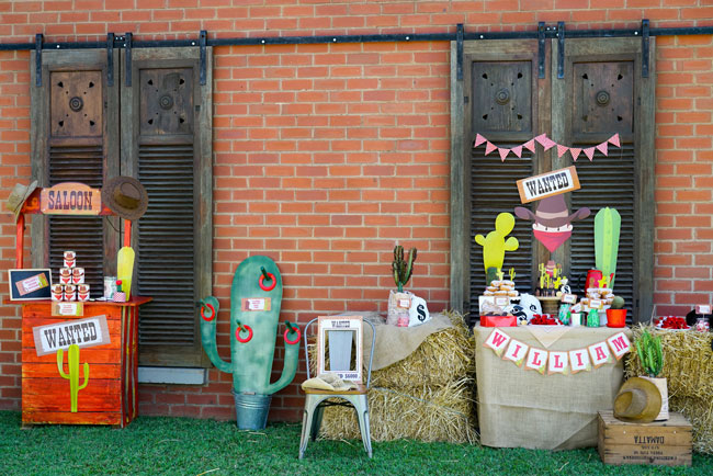 Western Theme Party Decorations