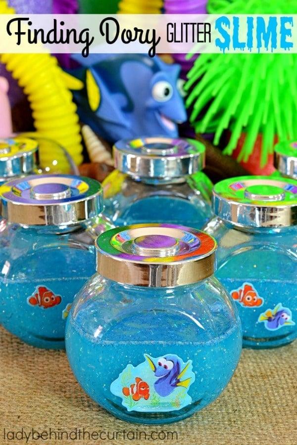 Finding Dory Glitter Slime