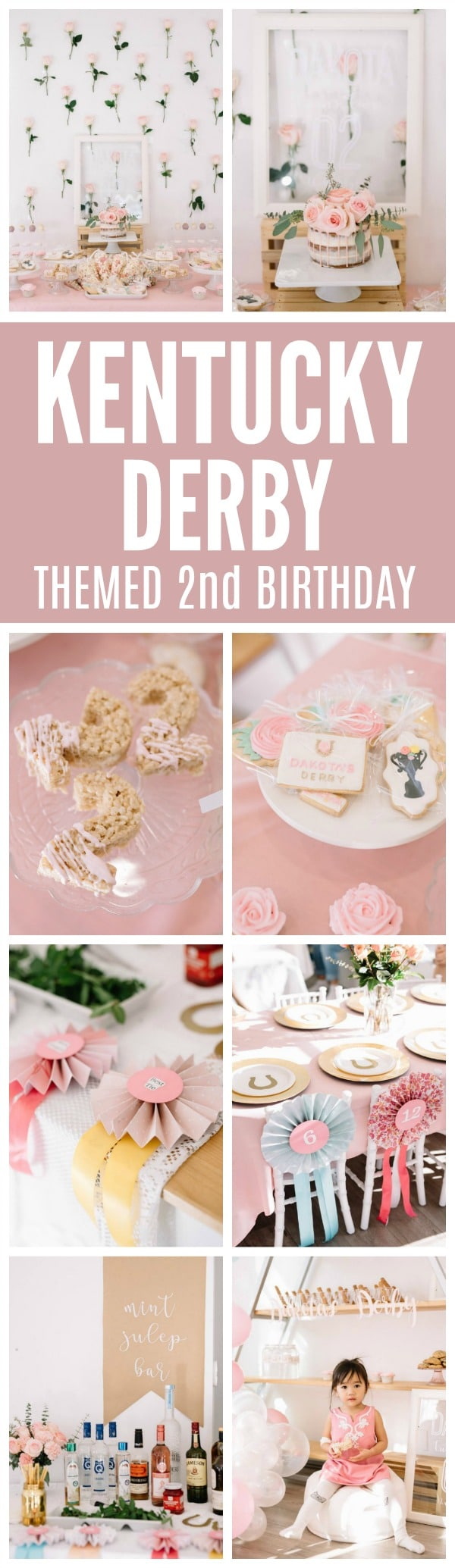 Perfectly Pink Kentucky Derby Party - Pretty My Party