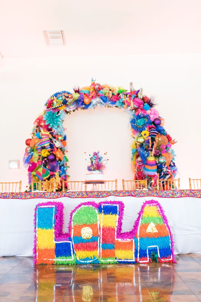 Colorful Fiesta Theme Quinceanera , Pretty My Party