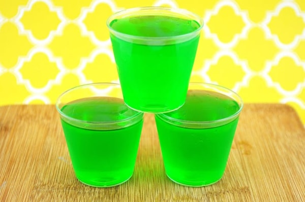 Lime Tequila Jello Shots