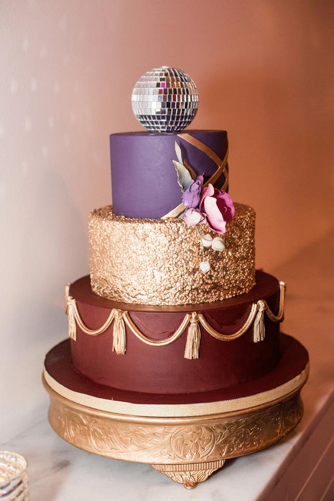 Pleasing Purple Glam 40Th Birthday Party Ideas Pretty My Party Funny Birthday Cards Online Necthendildamsfinfo