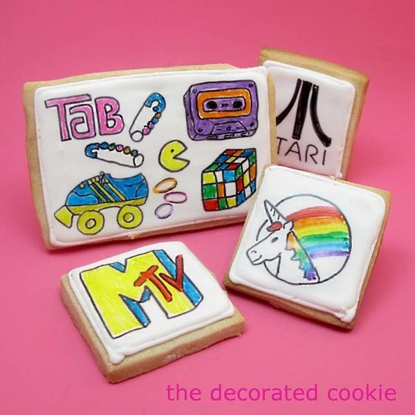 80s cookies