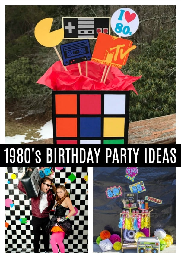 80s Theme Party Ideas - Pretty My Party