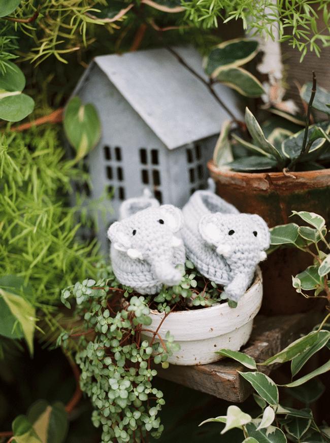 Garden Theme Baby Shower Decorations