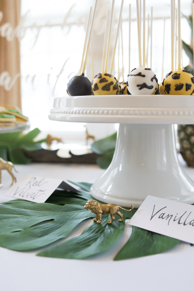 Fun Jungle Theme Baby Shower Desserts