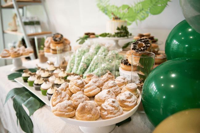 Jungle Birthday Party Desserts
