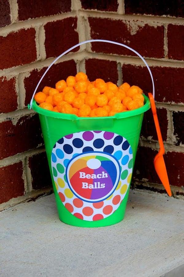Beach Balls - Pool Party Ideas