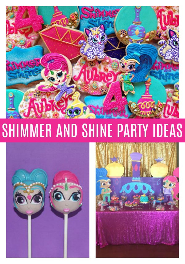Shimmer and Shine Birthday - Shimmer and Shine Party Ideas - Pretty My Party