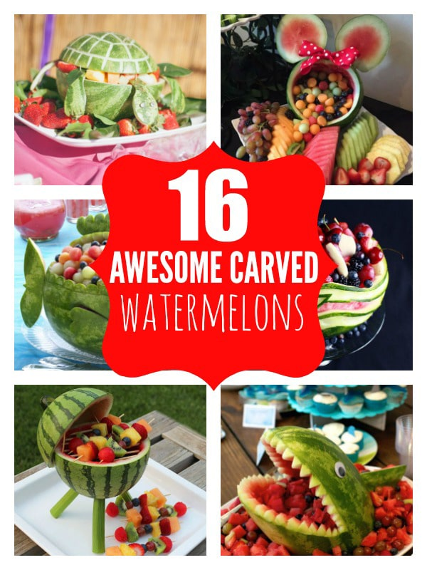 16 Most Creative Watermelon Carvings - Pretty My Party