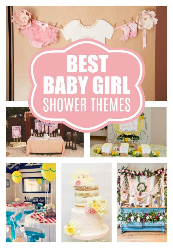 Best Baby Shower Themes For Girls on Pretty My Party