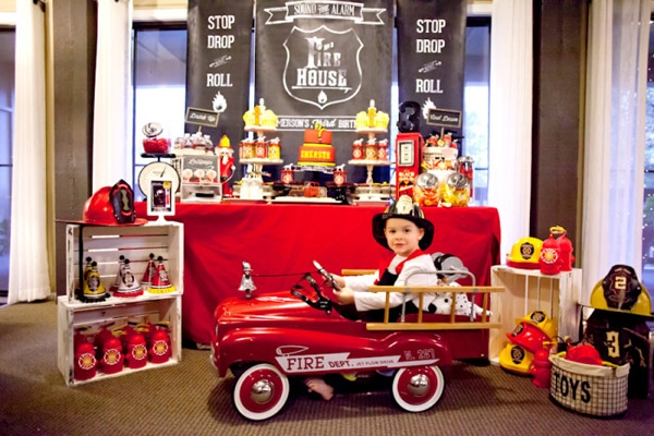 Firefighter Birthday Party Ideas