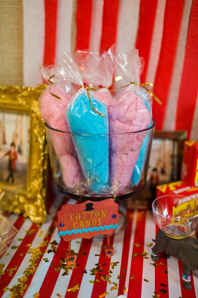Circus Theme Party Cotton Candy