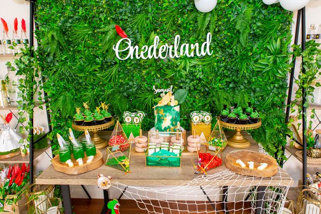 Peter Pan In Neverland First Birthday Party Pretty My Party