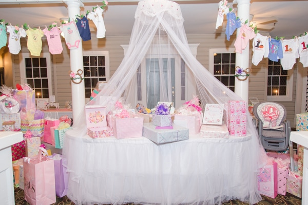 Baby Shower Gift Table Idea