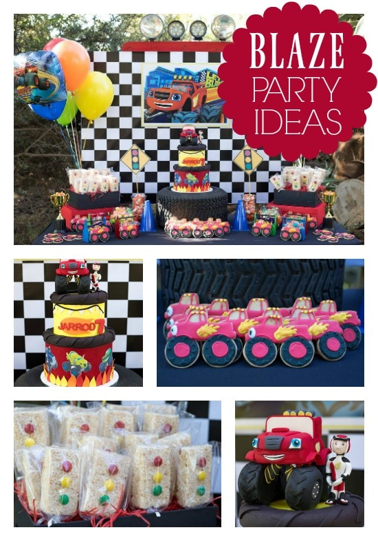 Blaze and the Monster Machines Birthday Party - Pretty My Party