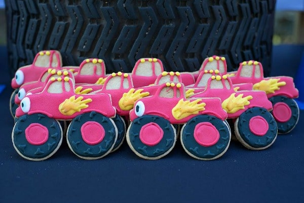 Blaze and the Monster Machines Birthday Party Cookies