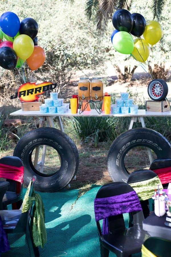 Blaze and the Monster Machines Birthday Party Refuel Station
