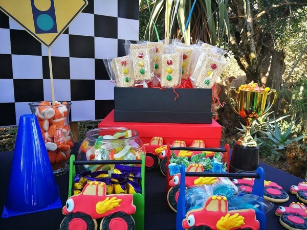 Blaze and the Monster Machines Birthday Party Food