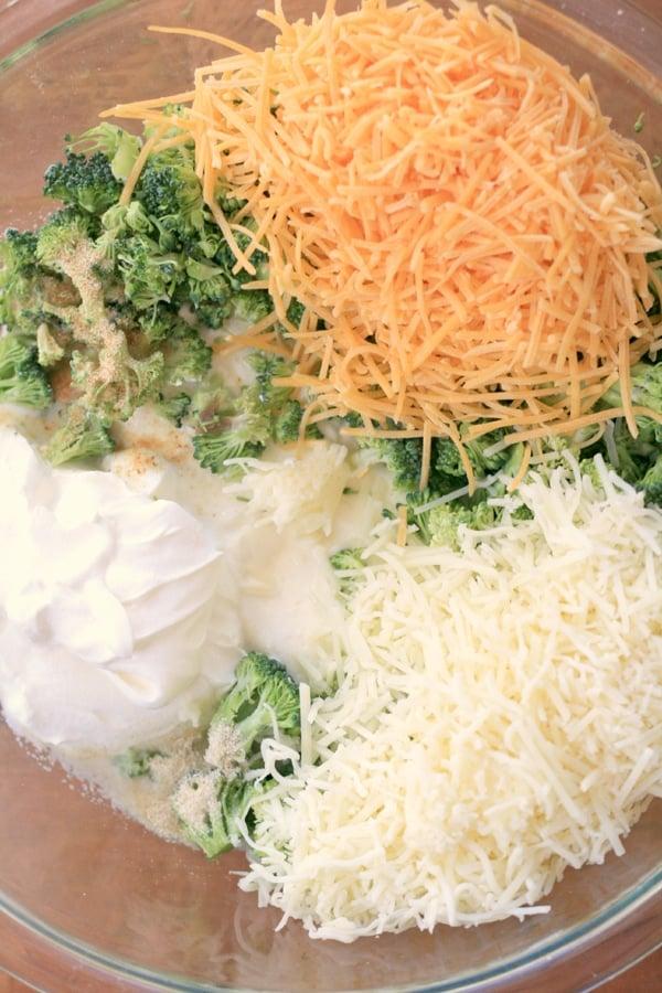 Broccoli Dip Ingredients - Pretty My Party