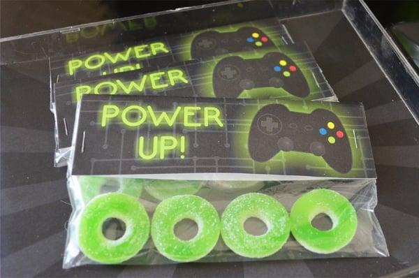 Gamer Birthday Party Candy