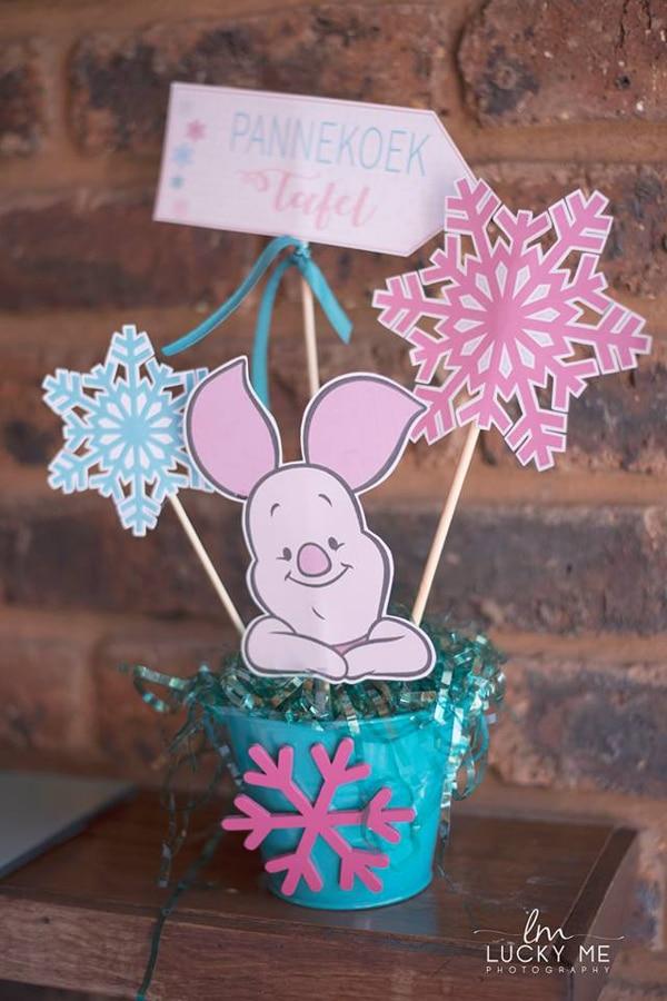 Piglet In Onederland 1st Birthday Party Centerpiece