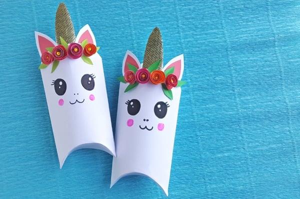 DIY Unicorn Favor Boxes - Pretty My Party