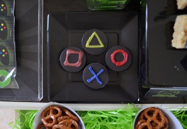 Gamer Birthday Party Desserts