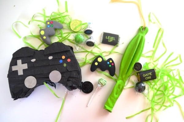 Gamer Birthday Party Favor Mini Pinatas