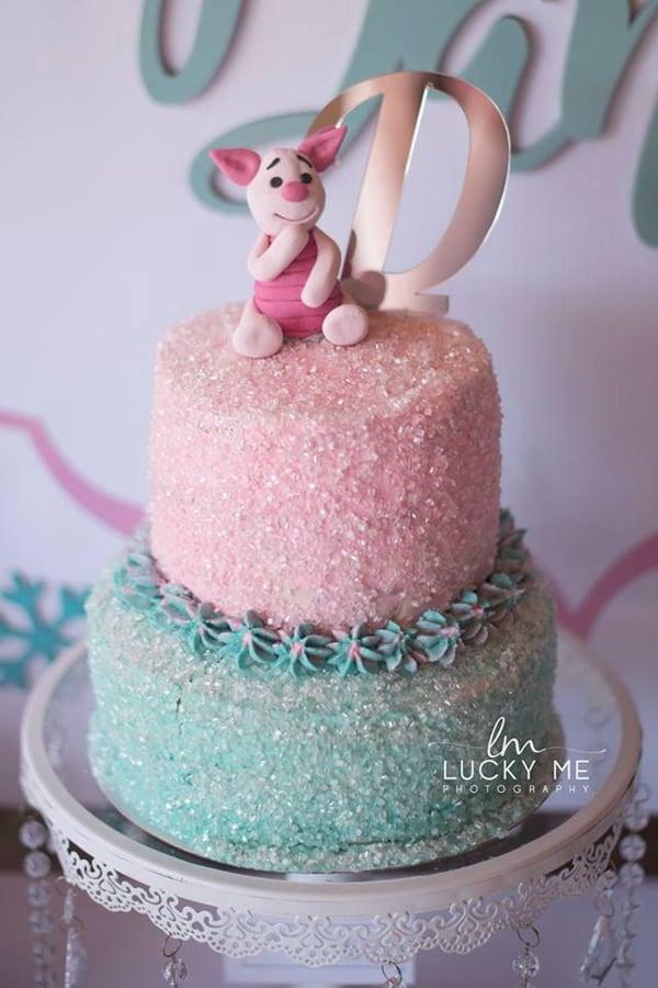 Piglet In Onederland 1st Birthday Cake