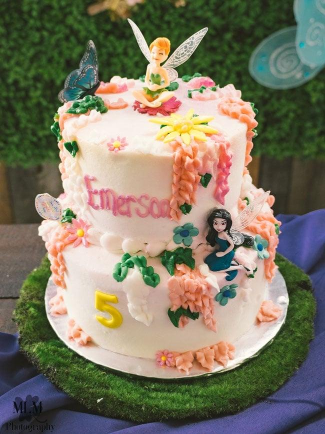 Fairy Birthday Party Cake