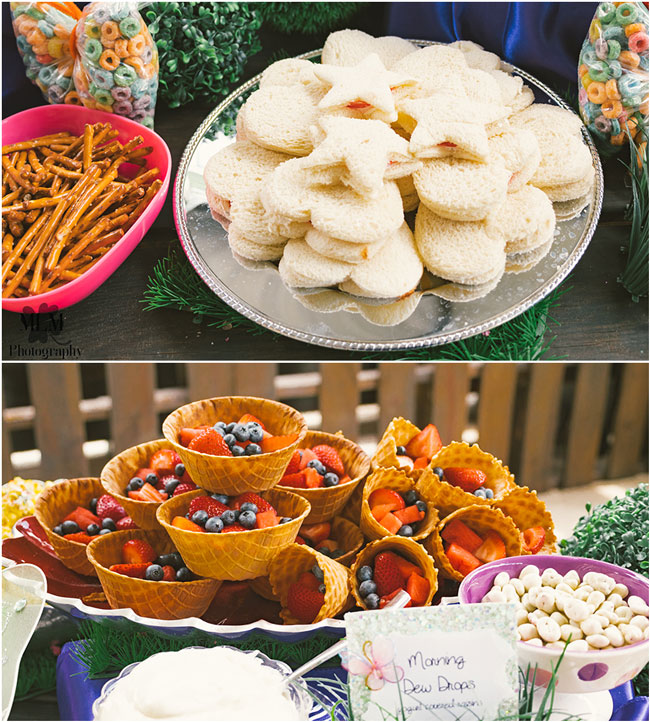 Fairy Birthday Party Food