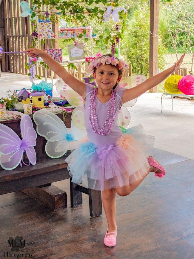 Fairy Birthday Party Outfit