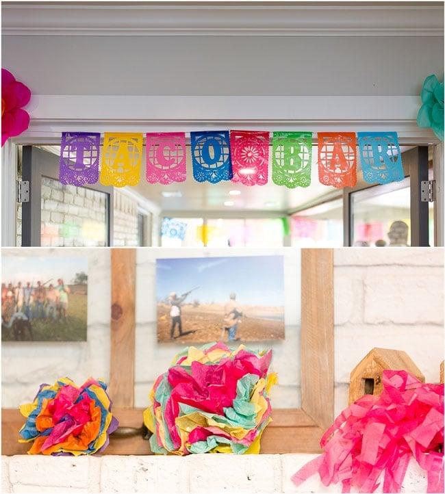 Fiesta Bridal Shower Banner