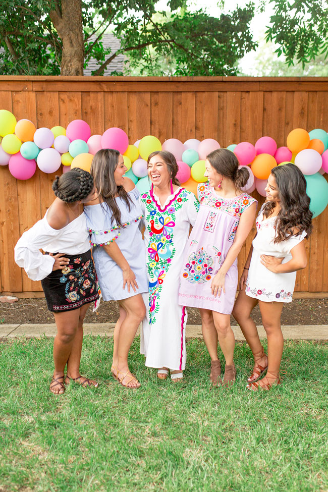 Fiesta Bridal Shower Ideas