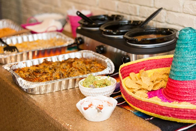 Fiesta Bridal Shower Food