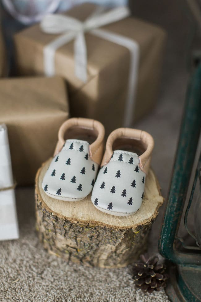 National Park Baby Shower Baby Shoes