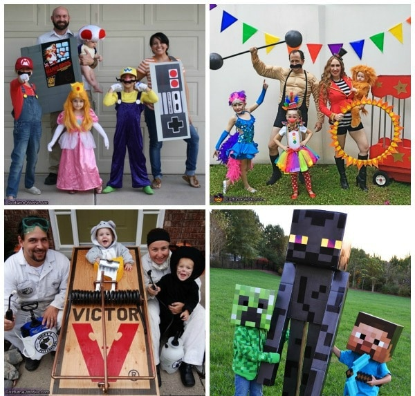 Family Halloween Costumes on Pretty My Party