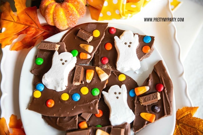 Halloween Boo Bark on Pretty My Party