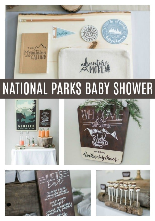 National Park Baby Shower on Pretty My Party