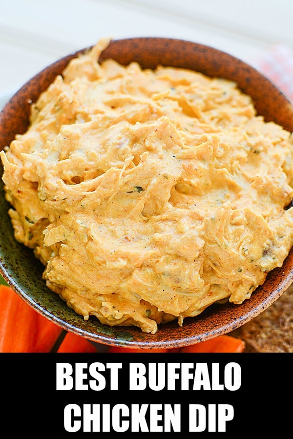Best Buffalo Chicken Dip Recipe on Pretty My Party