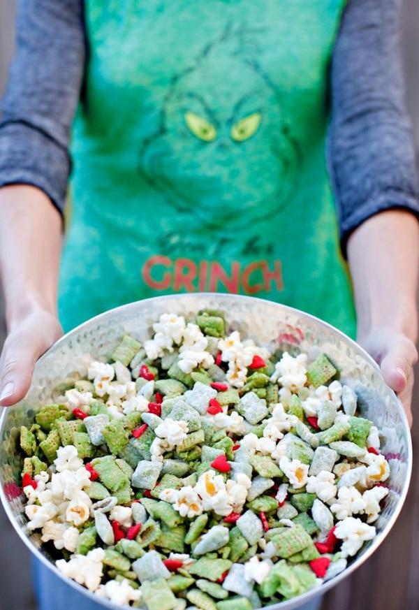 Grinch Chex Mix Recipe